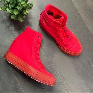 Converse CTAS Platform Plus Diva Wedge Sneaker